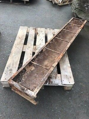 Antique Cast Iron Feed Trough/Garden Planter
