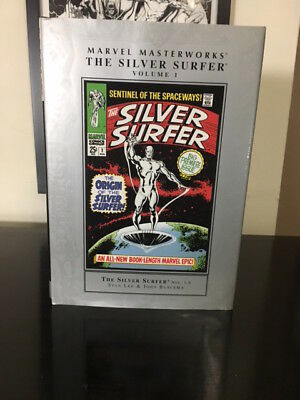 Marvel Masterworks Silver Surfer Vols 1 & 2 Lot, Hardcover, Out of Print