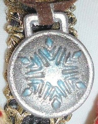 FROZEN KRISTOFF LE DOLL ICE HARVESTER MEDAL Necklace NEW OOAK Princess Anna Beau
