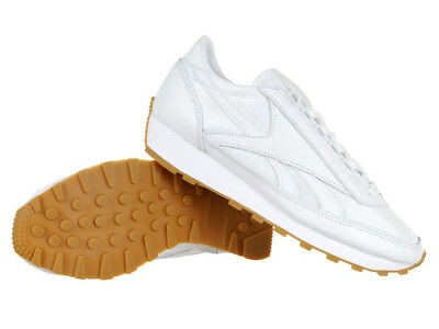 f92c8435568c Reebok Classic Aztec Garment and Gum Leather Women s Sneakers White Trainers
