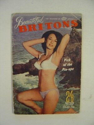 BEAUTIFUL BRITONS  Number 159.   Men's 1950's/1960's Vintage Pocket Magazine.