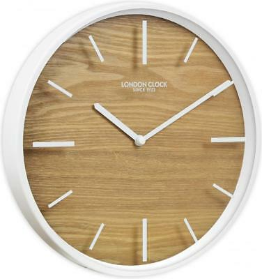 London Clock Company 'Skog' Oslo Collection Wood Effect Clock