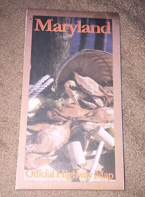 1997 Maryland State Map
