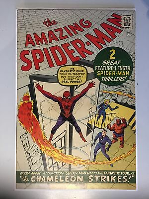 Amazing Spider-man (1963) #   1 GOLDEN RECORD REPRINT GRR 1966 (8.0-VF)