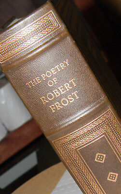 The Poetry of Robert Frost - Franklin Library Leather 100 GREATEST BOOKS