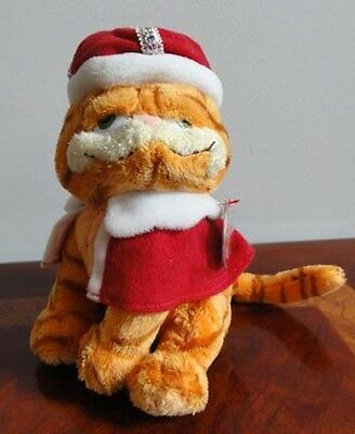 Ty Beanie Babies Baby Garfield Tale Of Two Kitties Movie His Majesty Mwmt