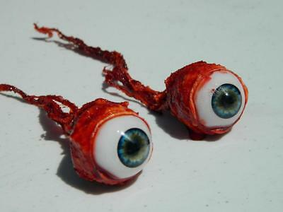 Halloween Horror Prop Realistic Life Size Pair of  Ripped Out Eyeballs -  FL02