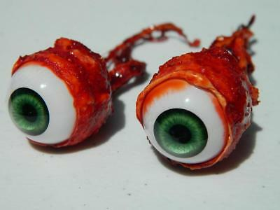 Halloween Horror Prop Realistic Life Size Pair of  Ripped Out Eyeballs -  FB03