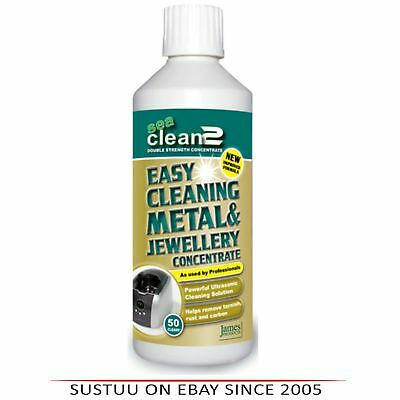 James Products Seaclean2 Metal & Jewellery Concentrate Fluid Solution Cleaner