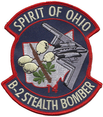 USAF B-2 Stealth Bomber Spirit of Pennsylvania Embroidered Patch LAST FEW