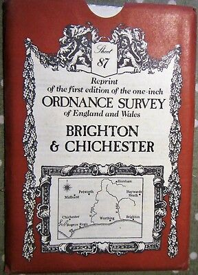 Reprint of the First Edition of the Ordnance Survey of Brighton & Chichester