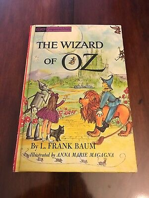 Vintage 1963 Wizard Of Oz And The Jungle Book Companion Book - Lovely!