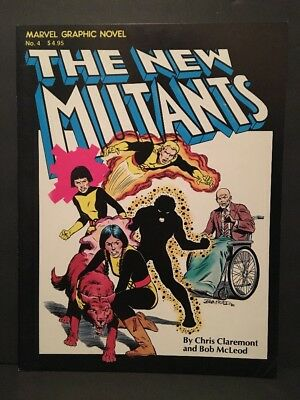 MARVEL GRAPHIC NOVEL #4 1st print FN++ New Mutants 1st App and Origin