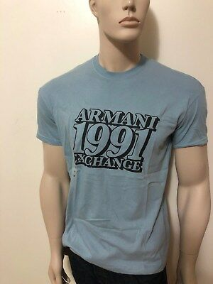 0e1369c9027f NEW AX ARMANI EXCHANGE MEN Round Neck T-shirt Slim Fit Muscle Fit Tee Top