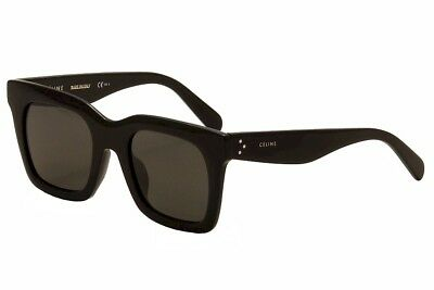 Celine Women's CL 41411FS 41411/F/S 807/NR Black Fashion Sunglasses 50mm