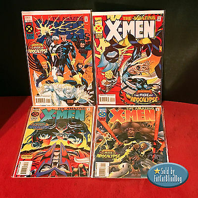 Amazing X-Men #1-4 - Complete Set - All 1St Prints - Marvel Comics - 1995 Vf/nm