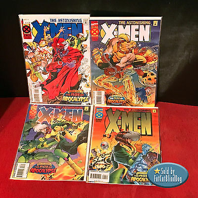 Astonishing X-Men #1-4 - Complete Set - All 1St Prints - Marvel- 1995 Vf/nm