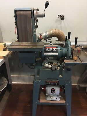 JET Belt Disc Sander / Grinder (compacitor broken) LOWERED PRICE