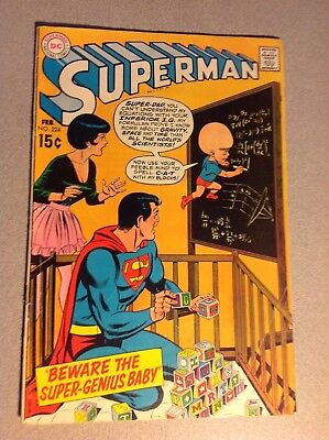 lot  of 2 comics Superman (224), GD+, the best of dc (40 ) FN