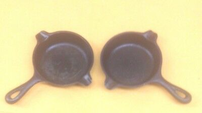 Wagner Ware Cast Iron Ash Trays (A Pair Of Them)