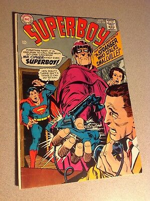 Superboy #150  (1968 Gd+)  Neal Adams Cover
