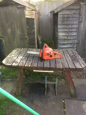 Dolmar PS34 petrol chainsaw Serviced New Parts Fitted