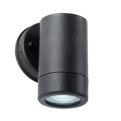 Saxby ICARUS Aplique Pared Exterior Negro IP44 2.5w LED GU10 Daylight Blanco
