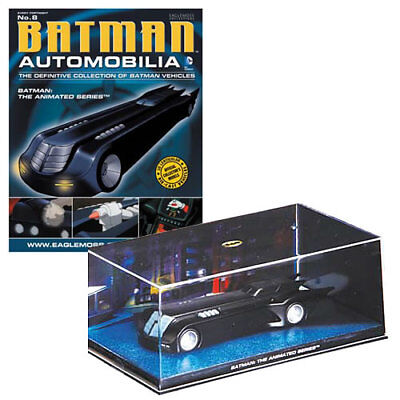 Batman Automobilia Collection Magazine #8 Batman The Animated Series Batmobile
