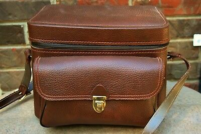 NICE Vintage Camera Bag Case with strap Made in USA
