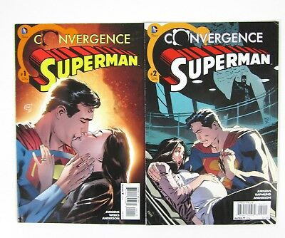 Convergence: Superman #1 and #2 First App Jonathan Kent Complete Series DC Comic
