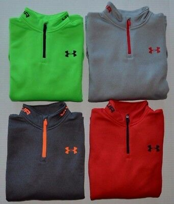 Boy's Under Armour Cold Gear Loose Fit Quarter Zip Pullover Jacket