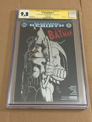 All Star Batman #1 Convention FOIL Variant CGC 9.8 Signed by Scott Snyder +!