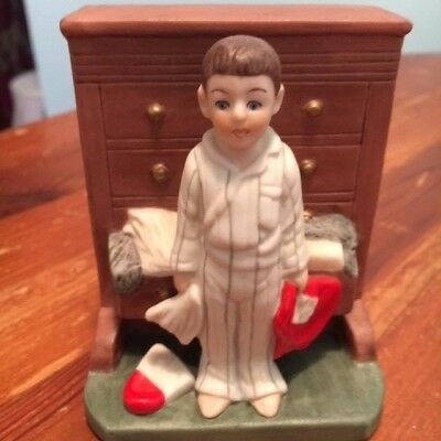 "The Danbury Mint figurine ""Bottom Drawer"""" 1989 Curtis Publishing Co."