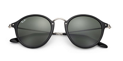 7847bcaefa New Ray Ban RB 2447 901 Black and Silver w Green Classic size 49mm