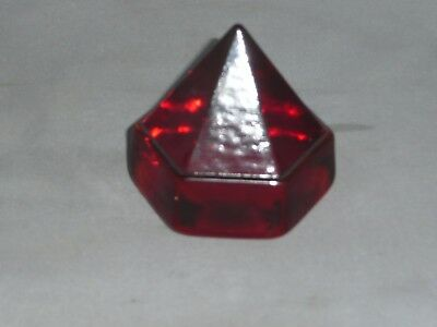 SHIP's  DECK  PRISM   small red prism