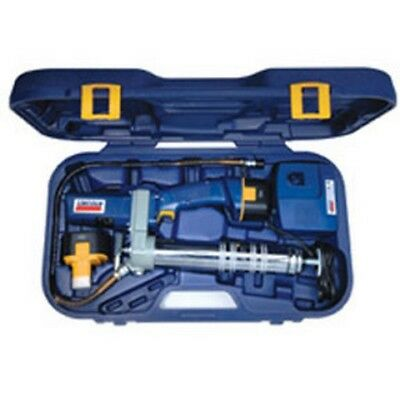 PowerLuber Dual Battery 12-Volt Cordless Rechargeable Grease Gun LNI-1244 New!
