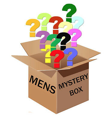 $50 Mixed Mystery (Box) Lucky Dip Bag Ex Retail Stock Christmas Presents For Men