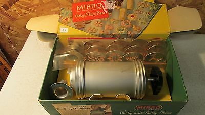 Mirro Aluminum Cooky Cookie Press Set- OB # 49