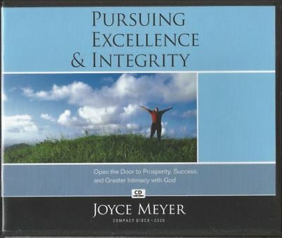 Joyce Meyer - PURSUING EXCELLENCE & INTEGRITY Audio CDs
