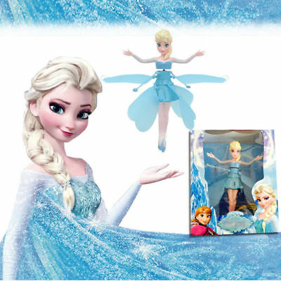 Princess Flying Fairy Elsa Fairy Girls Doll Xmas Gift Interactive Toy