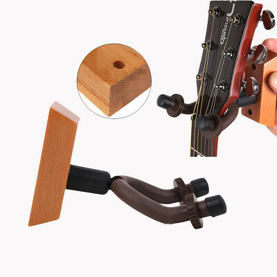 Guitar Wooden Wall Hanger/Holder/Stand/Rack/Hook For Guitar/Violin/Ukulele/Banjo