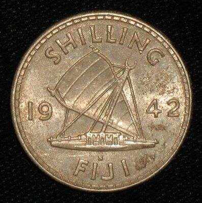 1942, Shilling from Fiji.  No Reserve!