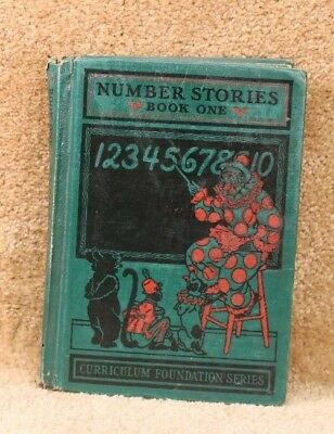 Number Stories Book One by Studebaker Curriculum Foundation Series 1932