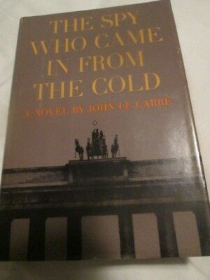 The Spy Who Came In From The Cold John Le Carre 1964 1St American  Edition W/dj