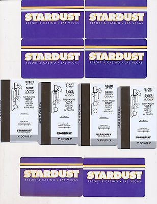 20 the same from--GONE---STARDUST---Las Vegas,NV-----Room keys