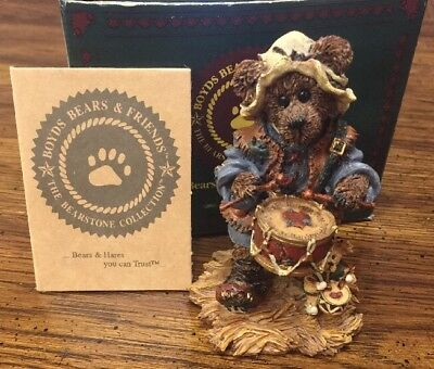 Boyds Bears Nativity Matthew as the Drummer Style #2415 WITH BOX Christmas