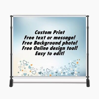 Custom Print 8x8ft for Step & Repeat Stand, Backdrop, PHOTOGRAPHY QUALITY #13