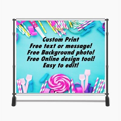 Custom Print 8x8ft for Step & Repeat Stand, Backdrop, PHOTOGRAPHY QUALITY #8