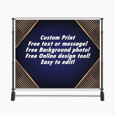 Custom Print 8x8ft for Step & Repeat Stand, Backdrop, PHOTOGRAPHY QUALITY #3