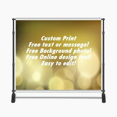 Custom Print 8x8ft for Step & Repeat Stand, Backdrop, PHOTOGRAPHY QUALITY #4